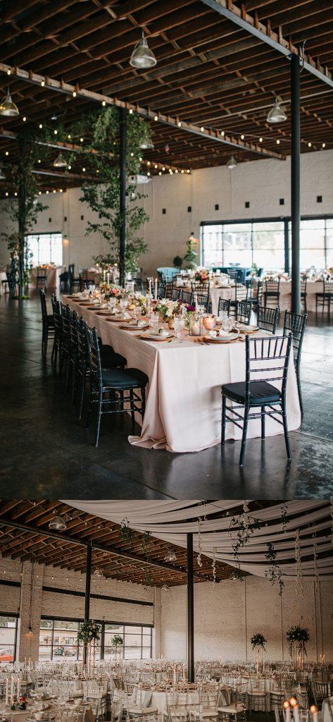 indoor industrial wedding venue In Florida