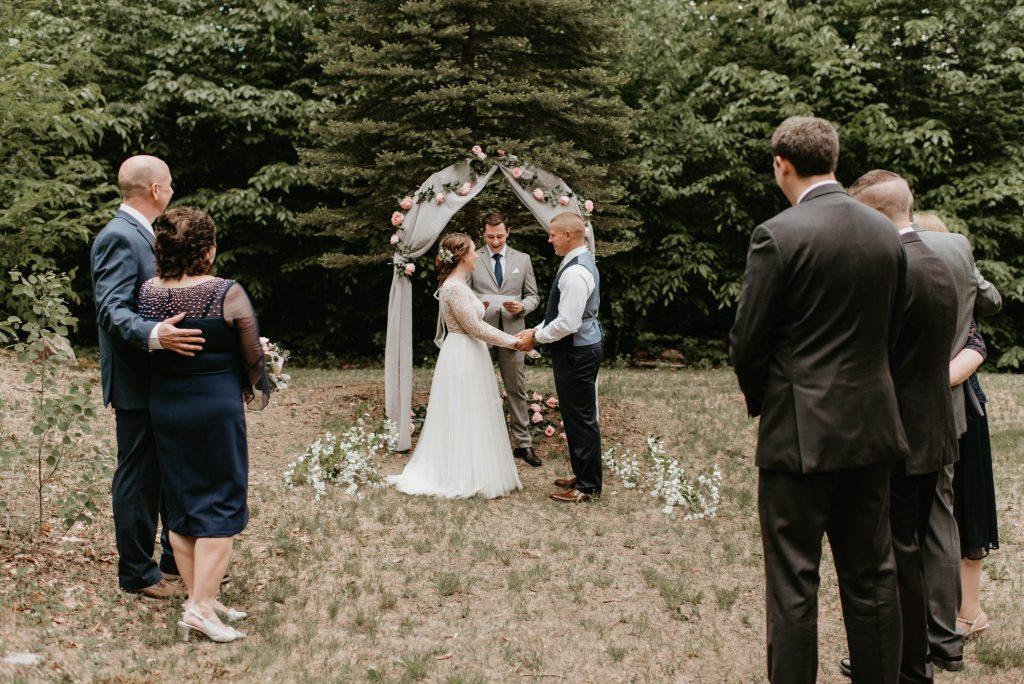 intimate wedding new hampshire