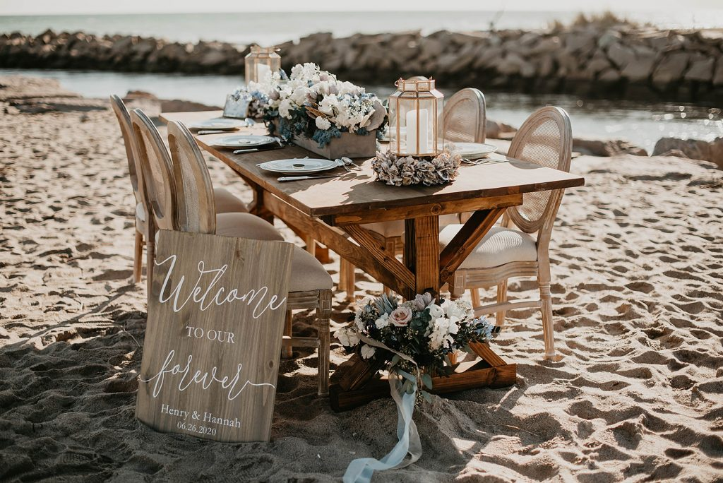boho wedding table