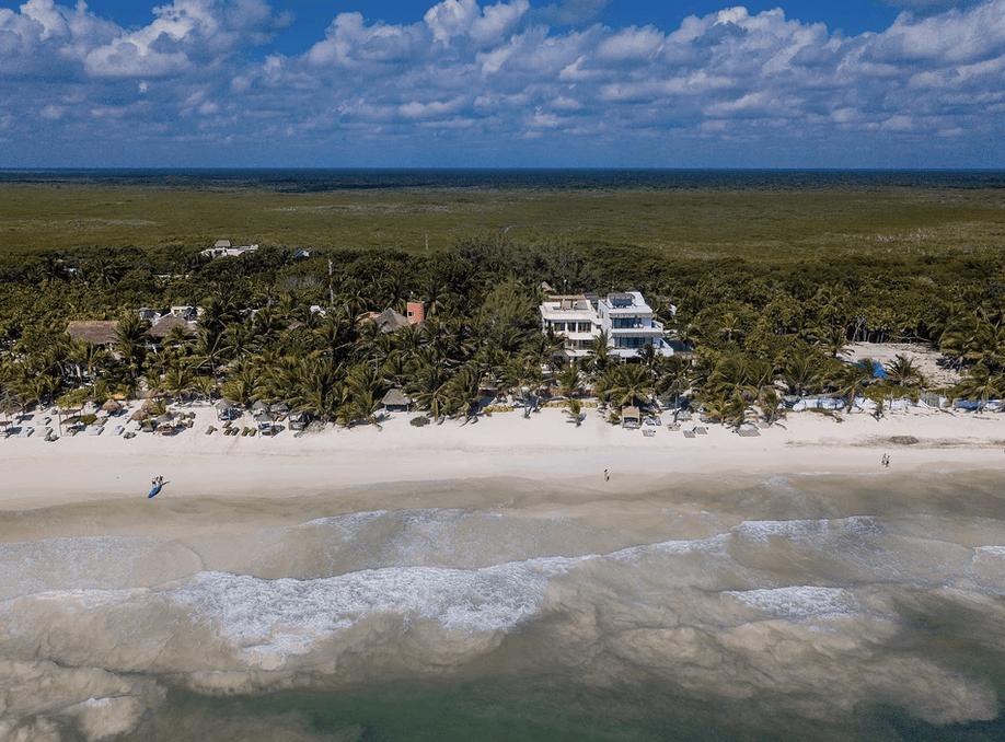 wedding venue on beach